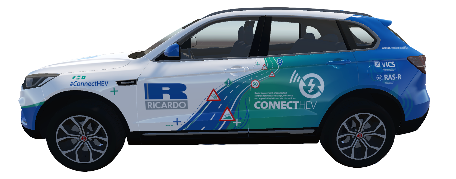 ConnectHEV vehicle