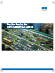 Key enablers for the Fully Autonomous Vehicle