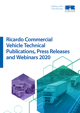 Ricardo Publications Catalogue 2020: Commercial Vehicle