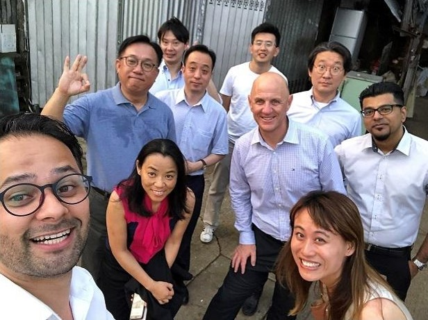 The Asia Senior Leadership Team met to consider the 'sea of opportunity' it faces.
