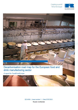 Decarbonising the European food and drink manufacturing sector