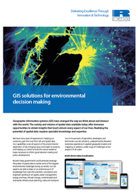 GIS solutions for environmental decision making