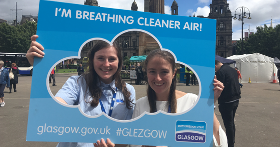 Reflection's on 2019's Clean Air Day in Scotland – engaging with local communities on improving air quality