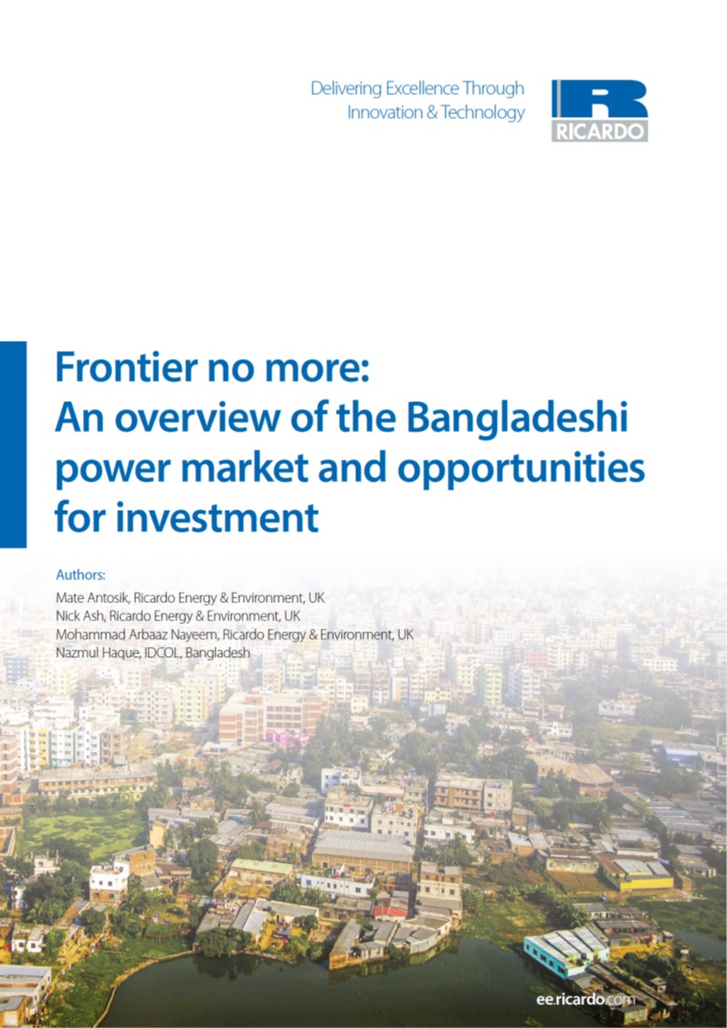 Frontier no more: An overview of the Bangladeshi power market and opportunities for investment