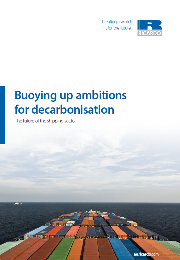 Buoying up ambitions <br> for decarbonisation: <br> The future of the shipping sector