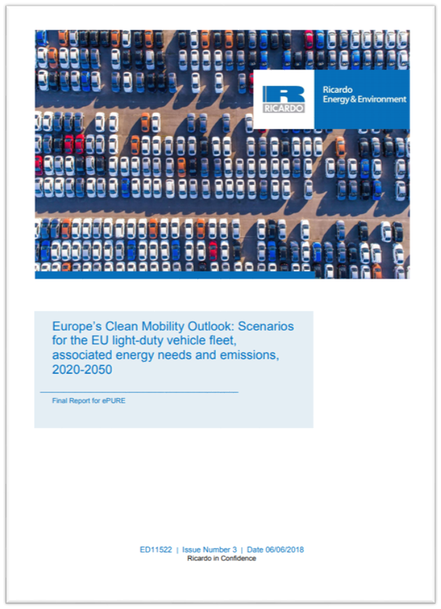 Europe's Clean Mobility Outlook: Scenarios for the EU light-duty vehicle fleet, associated energy needs and emissions, 2020-2050