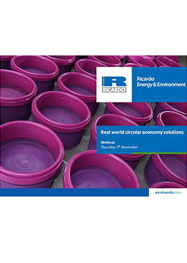 Real world circular economy solutions (bioresources)