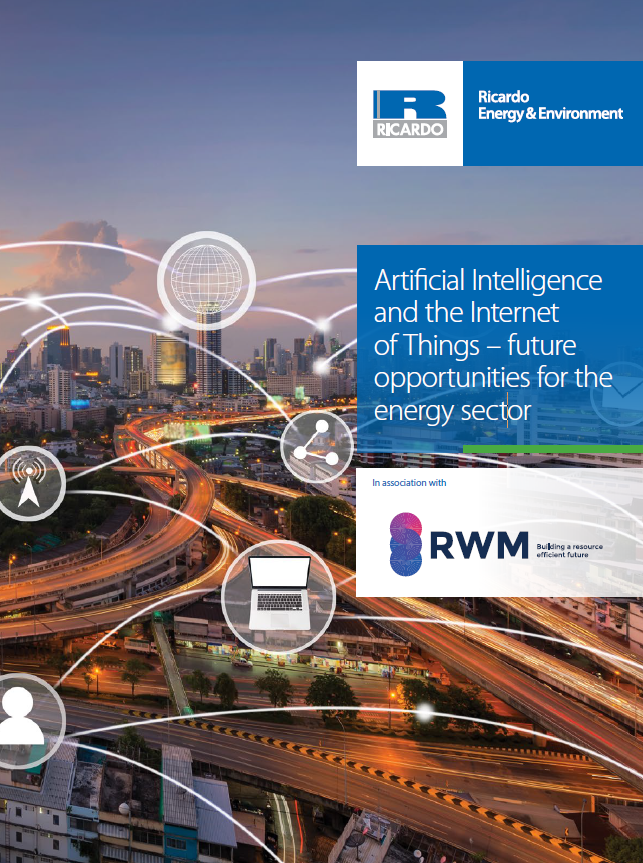 Artificial Intelligence and the Internet of Things - future opportunities for the energy sector