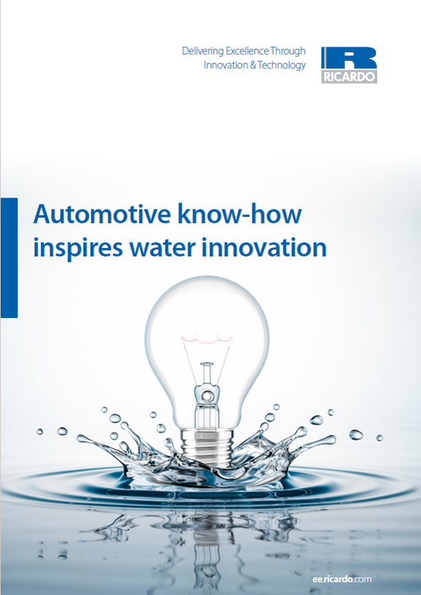 Automotive know-how inspires water innovation