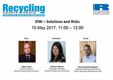 Energy from waste: Solutions and risks