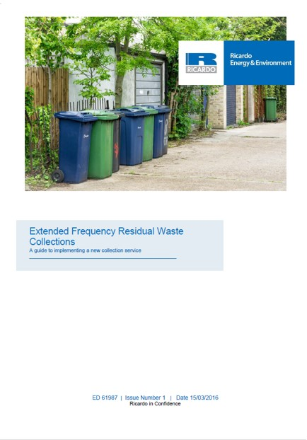 Extended Frequency Residual Waste Collections