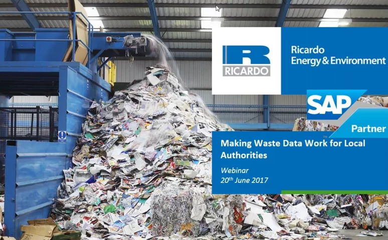 Making waste data work for local authorities