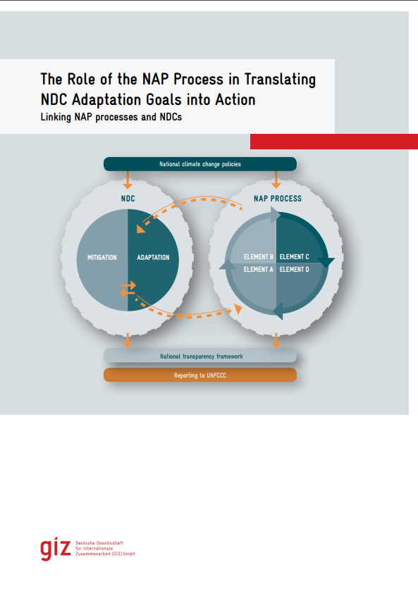 The Role of the NAP Process in Translating NDC Adaptation Goals into Action