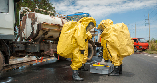 Chemical incident support - NCEC emergency response practice