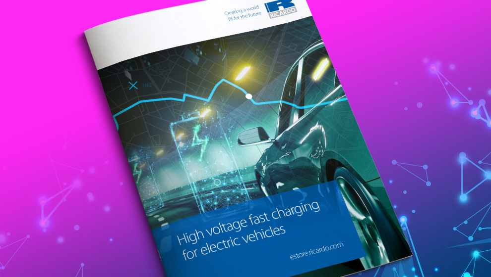 Report: High voltage fast charging for electric vehicles