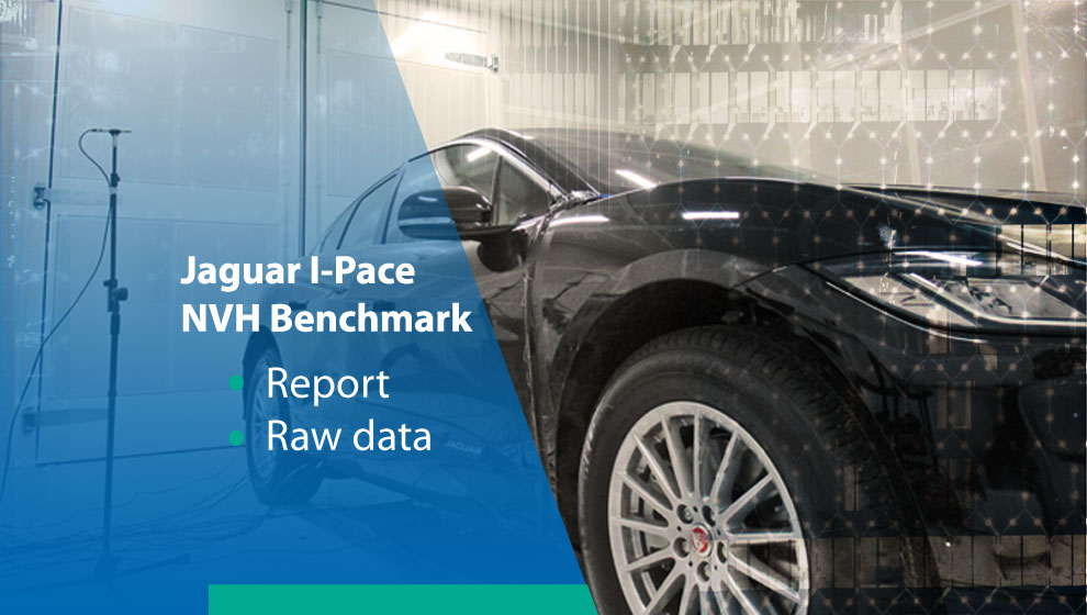 Jaguar I-Pace NVH Benchmark Report + Raw Test Data
