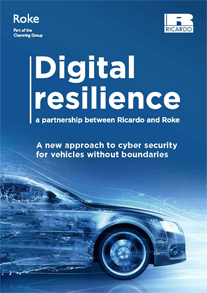 Digital Resilience: a new approach to cyber security for vehicles without boundaries