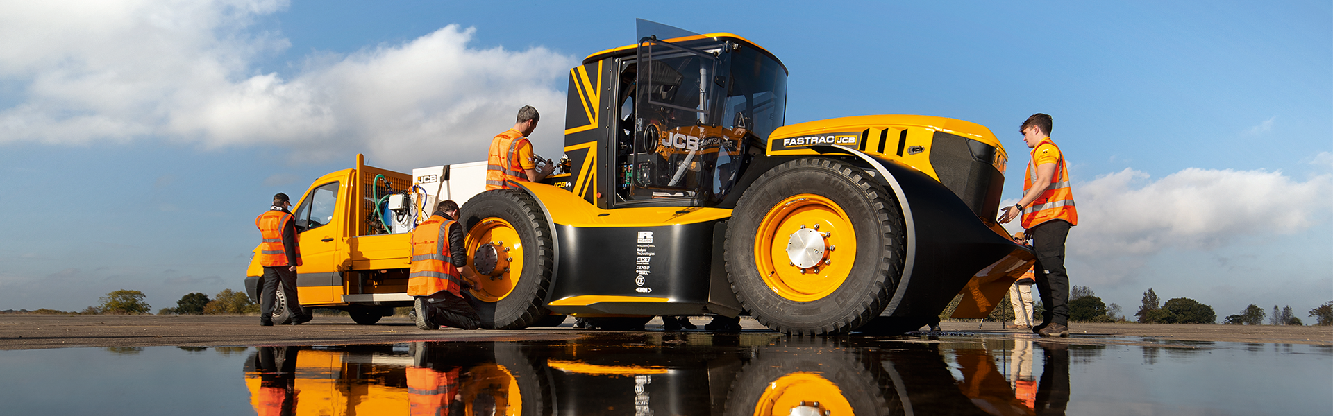 Ricardo's role in the development of JCB's Fastrac Tractor