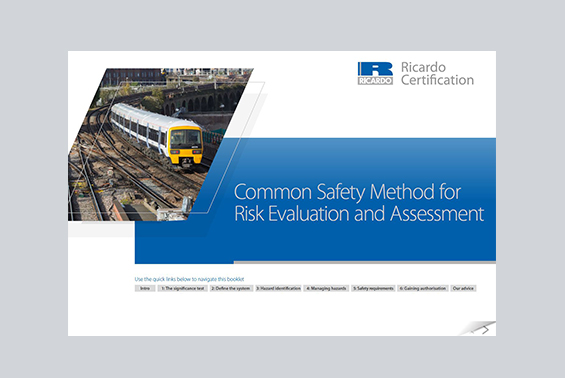 Common Safety Method eBook