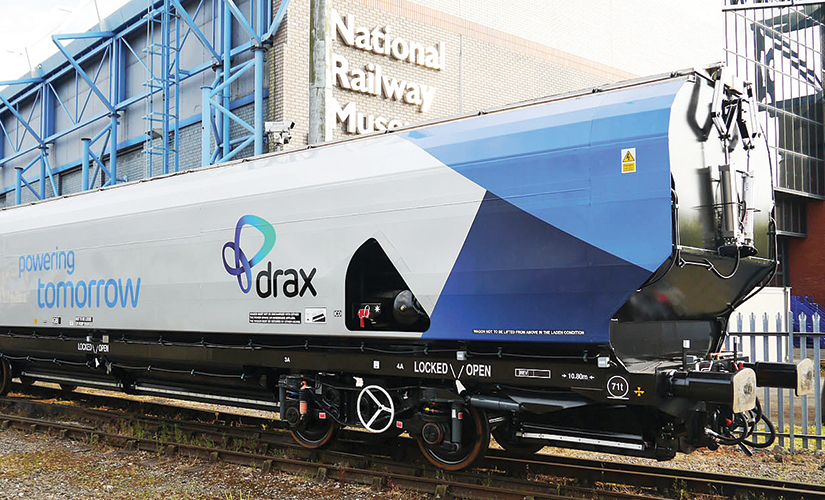 Drax power station - Award-winning freight wagon design