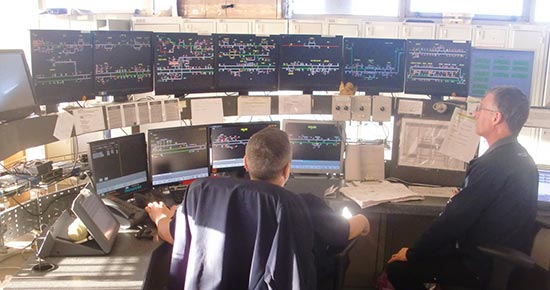Train control and automation
