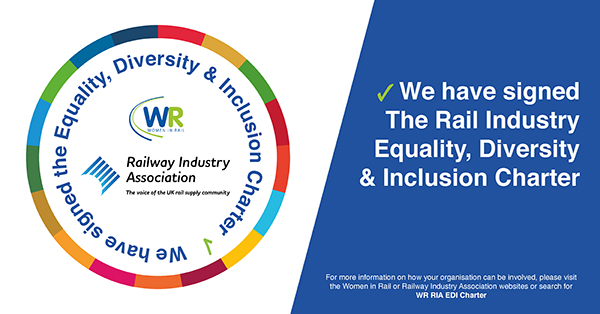 Ricardo signs UK Rail Industry Equality, Diversity & Inclusion Charter