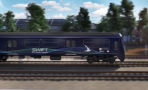 Ricardo working with Eversholt Rail to develop low-carbon 'Swift' Express Freight train