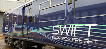 Swift Express Freight Train ready for service