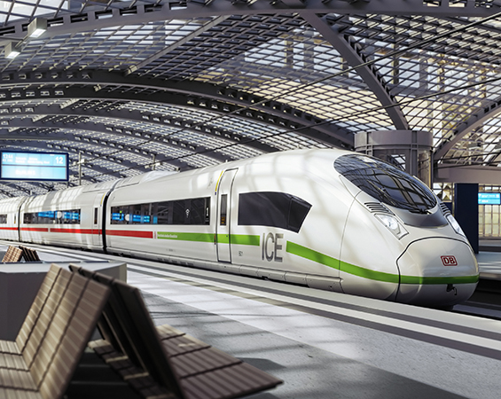The most important requirement was to get the trains on the rails as soon as possible. We can do that by relying on our proven Velaro platform and our network of suppliers to which Ricardo belongs.