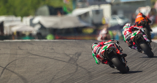 Motorcycle Race Technology into Real World Applications