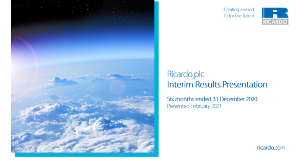 Interim Results & Presentation 2020/21 - February 2021