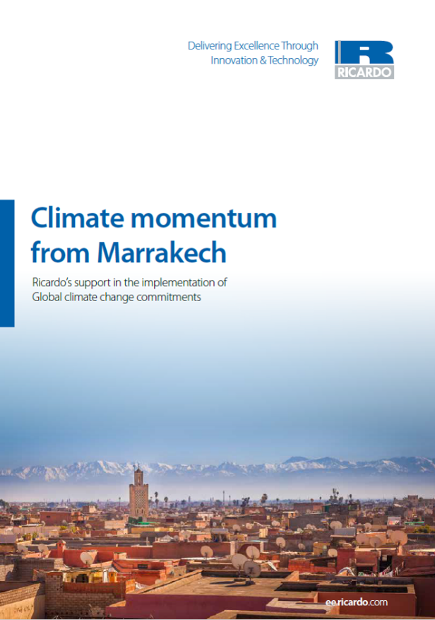 Climate momentum from Marrakech
