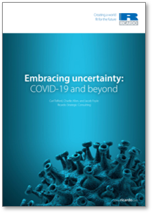 Ricardo white paper on scenario planning and embracing uncertainty with COVID-19 and beyond