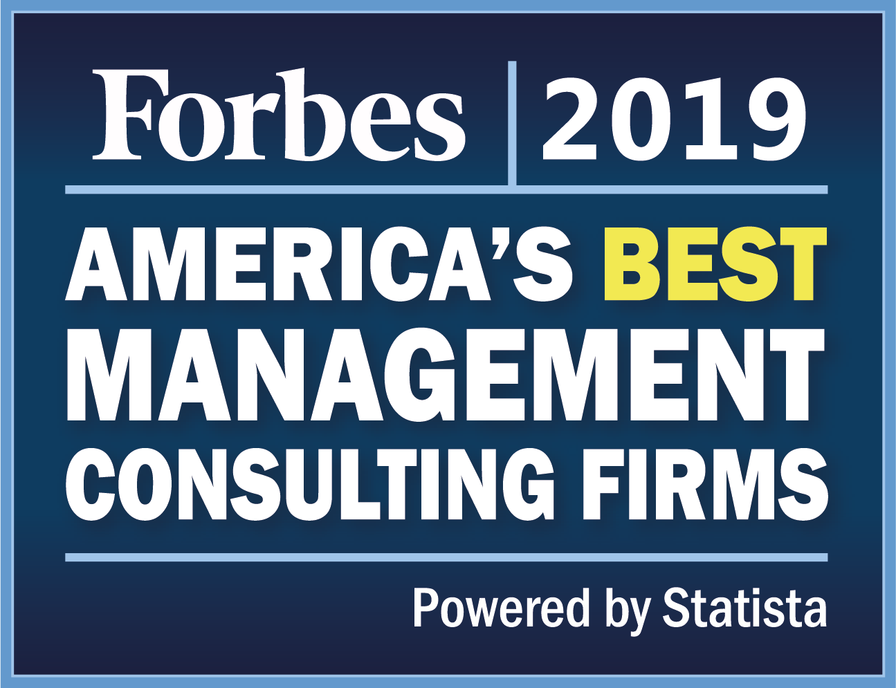 RSC named as one of 'America's Best Management Consulting Firms 2019'