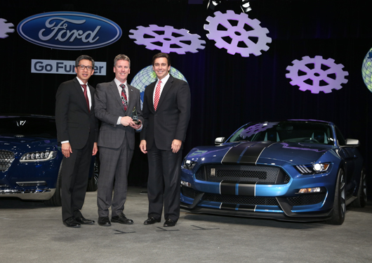 RSC wins Ford Gold World Excellence award
