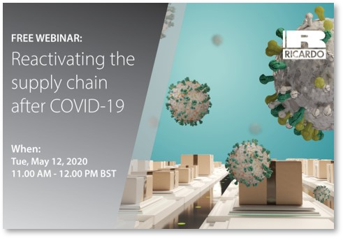 Reactivating the supply chain after COVID-19
