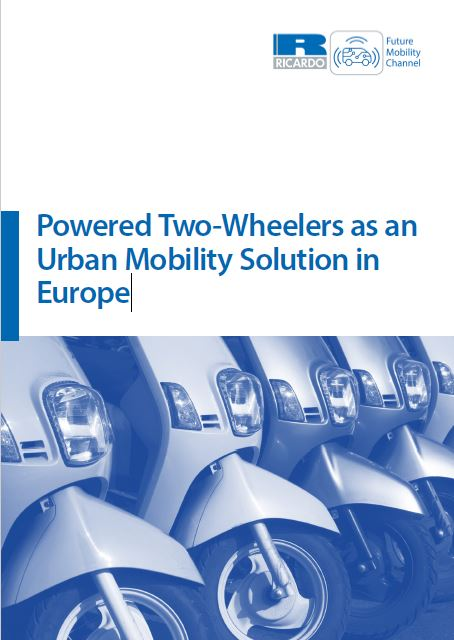 Powered Two-Wheelers as an Urban Mobility Solution in Europe
