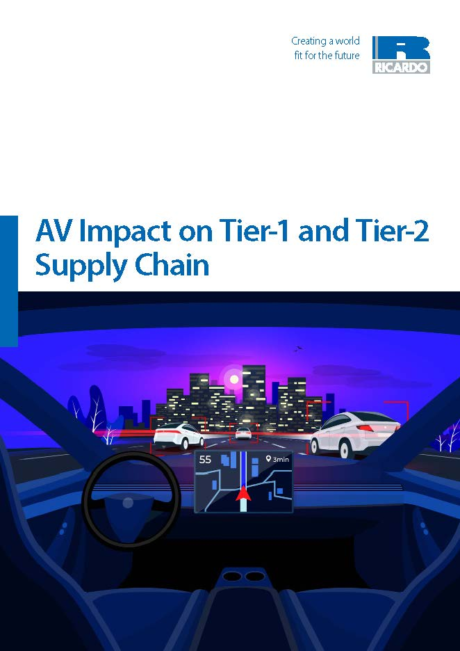 AV Impact on Tier-1 and Tier-2 Supply Chain