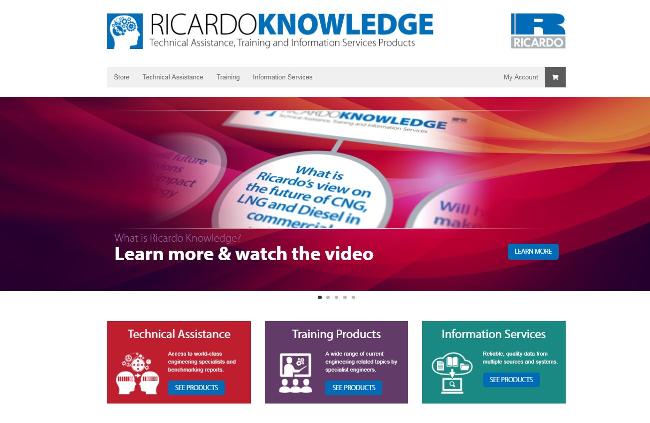 Ricardo Knowledge launches online benchmarking reports and training