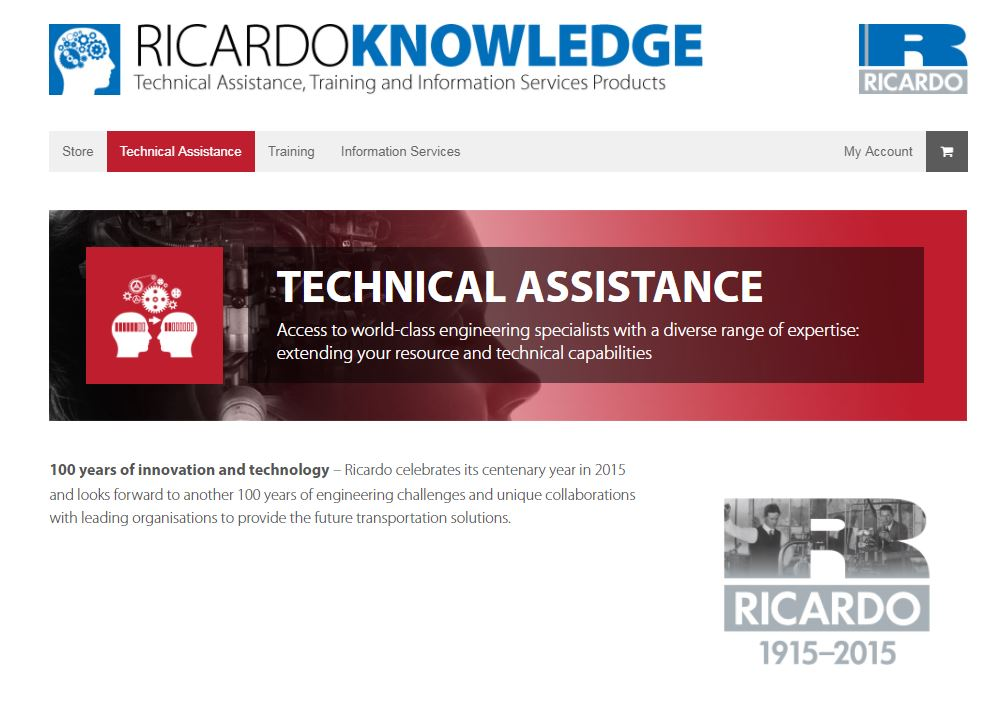 Ricardo Knowledge service launched