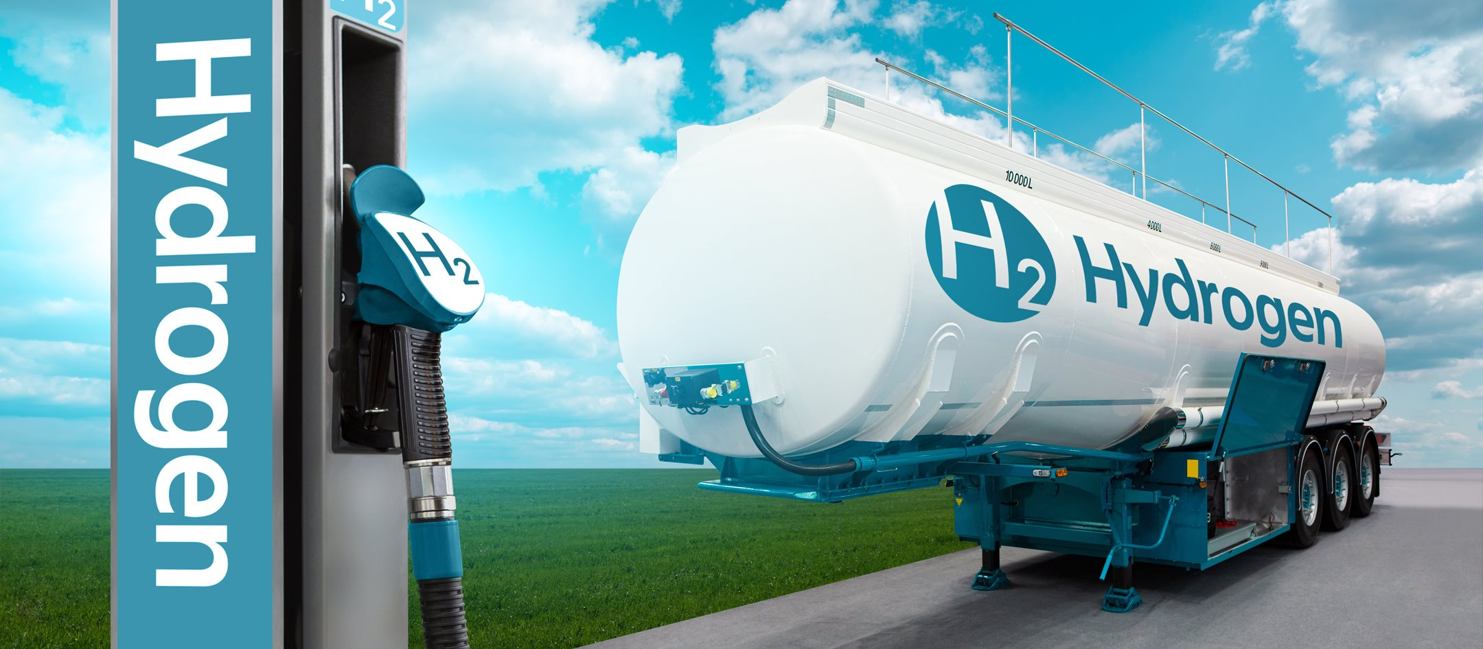 Hydrogen has an important role in the transition towards zero-emission transportation