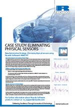 Case study: eliminating physical sensors